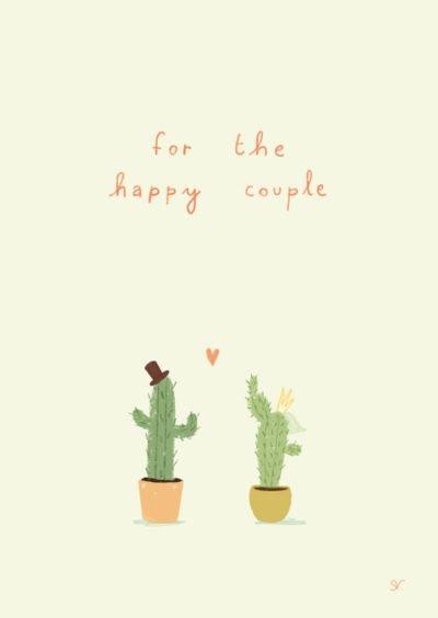 happy couple kaart