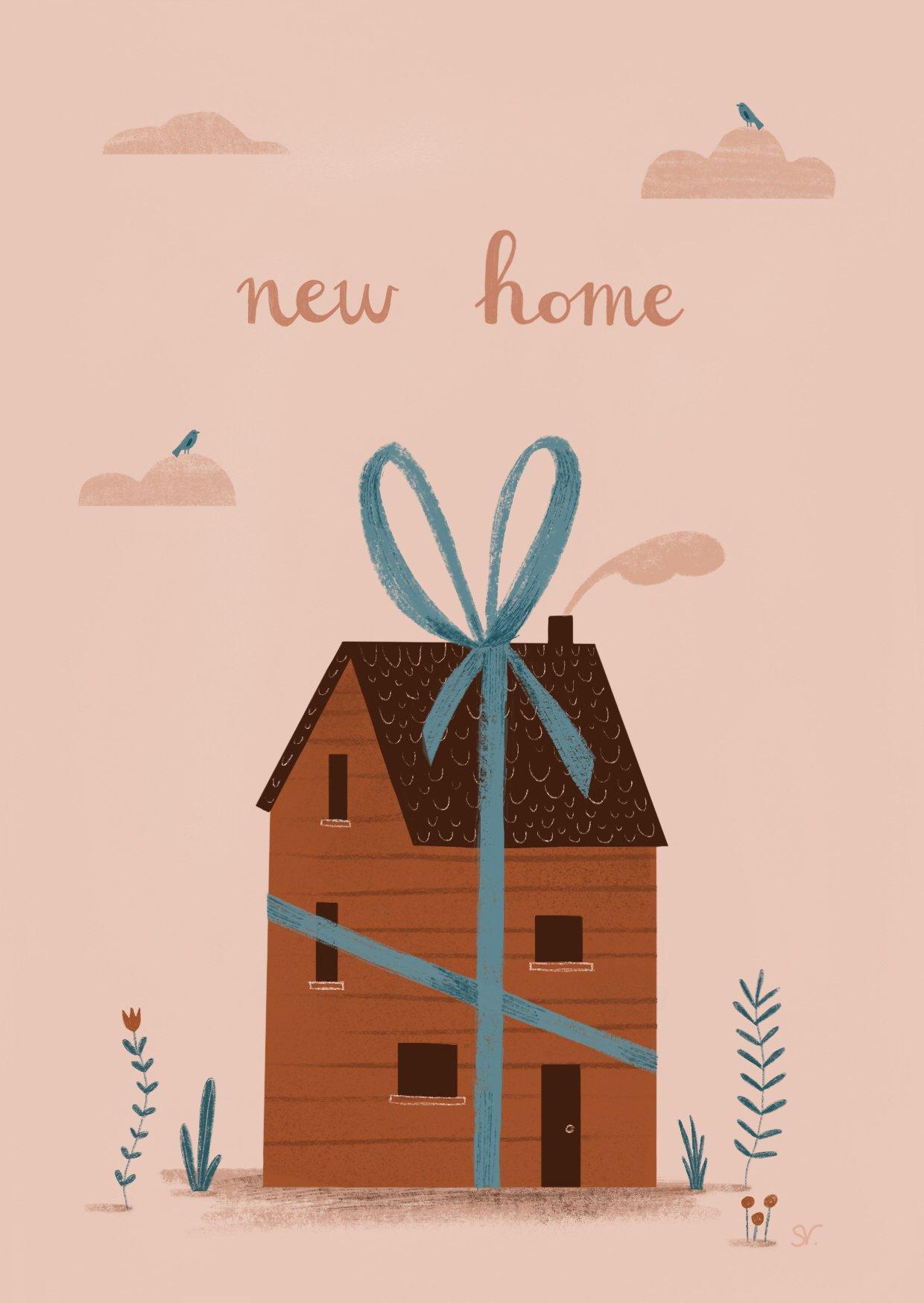 new home kaart