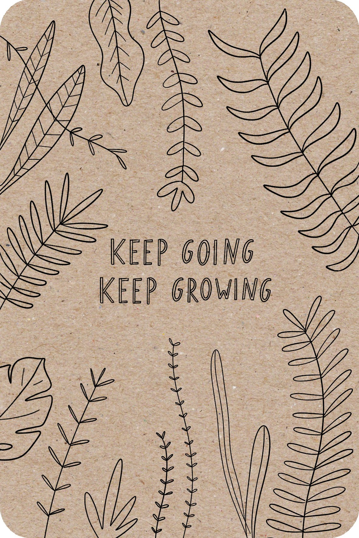 keep going keep growing