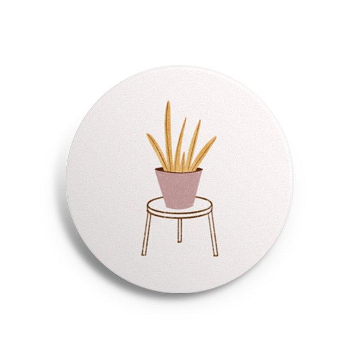 button plant