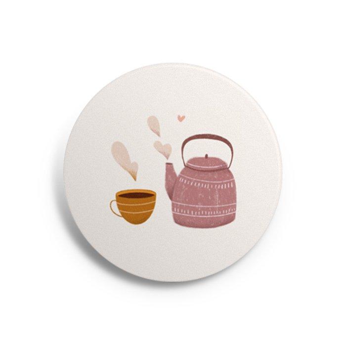 button tea time