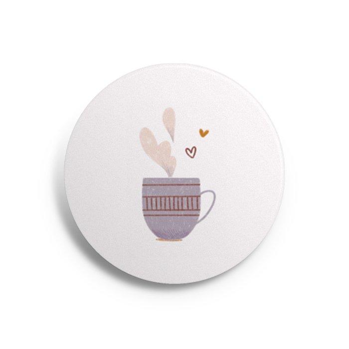 button tea