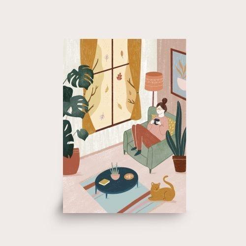 print cosy home